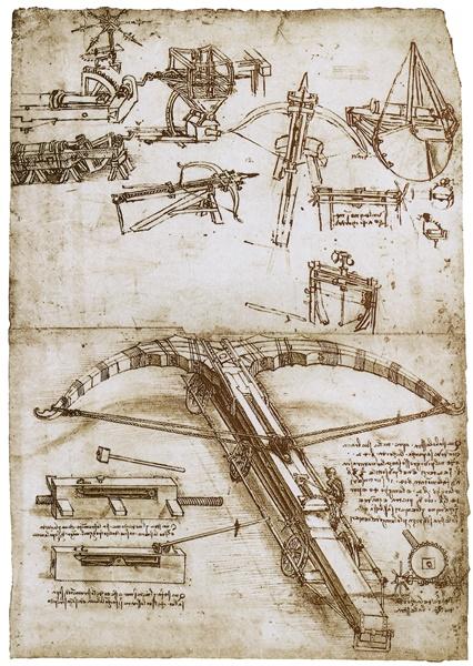 Арбалет Леонардо да Винчи