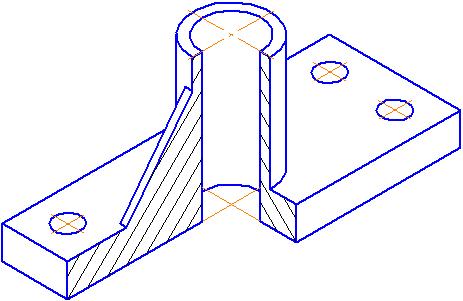 рисунок в проекции: